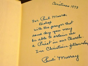 Pauli Murray Exhibit in the Keller Library
