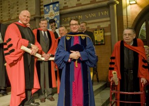 General Seminary Confers Four Honorary Doctorates
