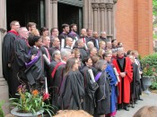 Commencement side