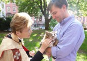 Blessing of the Animals at General Seminary
