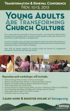 Transformation and Renewal Conference, November 10-13, 2013, Kanuga Conference Center