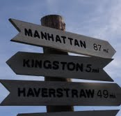 manhattan sign