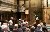 Presiding Bishop Katharine Jefferts Schori Preaches at General Seminary's Baccalaureate Service
