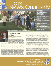 Fall 2015 GTS News Quarterly Available for Download