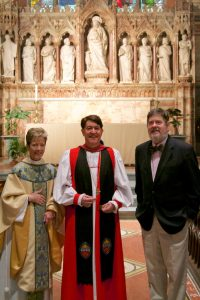 Bishop William Franklin Visits General Seminary