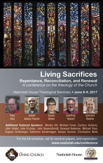 Living Sacrifices: Repentance, Renewal, and Reconciliation Conference